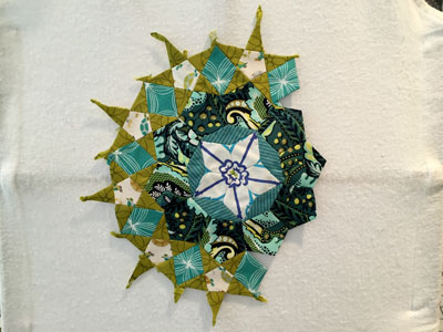 WIP Wednesday - A Baby Quilt and La Passacaglia - Scraps of